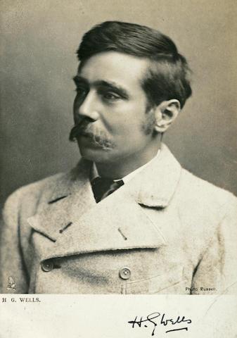 WELLS, H.G. 1866-1946.