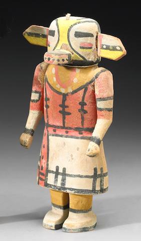 A Hopi kachina doll, Wilson Tawaquoptewa