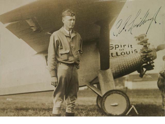 LINDBERGH, CHARLES A.  1902-1974.