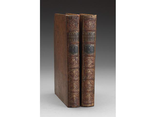 SMITH, ADAM.  1723-1790.