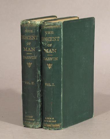 DARWIN, CHARLES.  1809-1882.