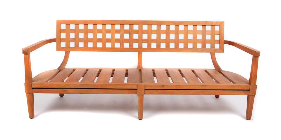An Orlando Diaz-Azcuy Portico sofa