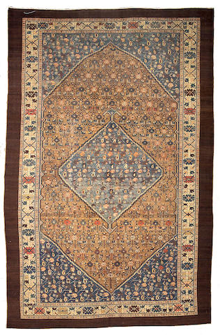 A Malayer carpet Central Persia, size approximately 8ft. 6in. x 13ft.