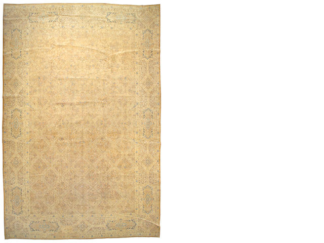 A Lavar Kerman carpet South Central Persia, size approximately 13ft. x 20ft.