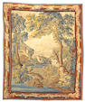 An Aubusson tapestry France, size approximately 7ft. 8in. x 9ft. 6in.