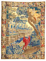 An Aubusson tapestry France, size approximately 8ft. 3in. x 11ft.