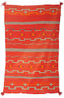 A Navajo late classic/early transitional child's blanket