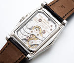 Fine platinum Patek Philippe 10-day with box and paper