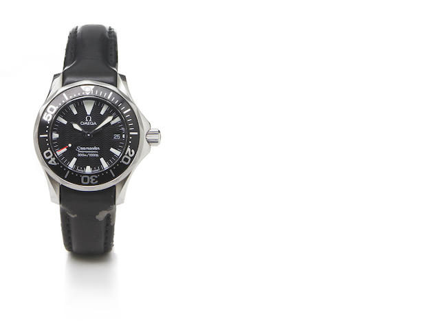 Omega Ladies Stainless stell sea master