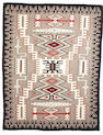 A Navajo rug, 10ft 8in x 8ft 3in