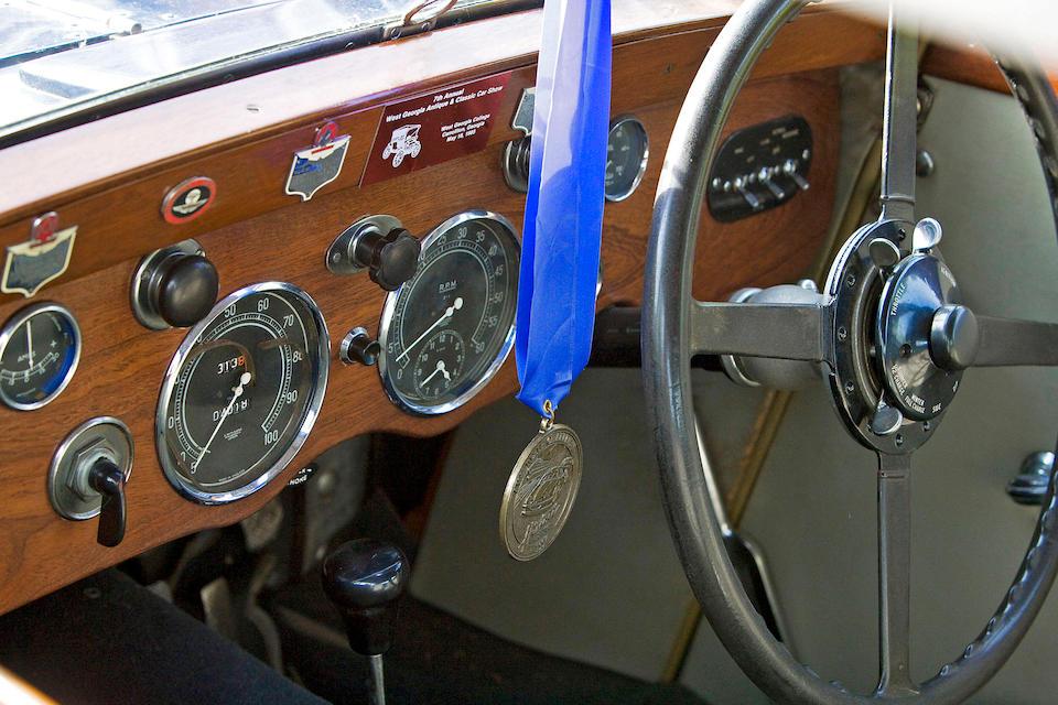 1934 Aston Martin 1 1/2 Liter MkII Sport Saloon  Chassis no. K4/513/L