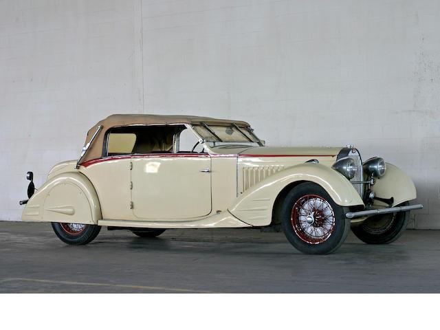 1934 Bugatti Type 57 Stelvio Cabriolet 164