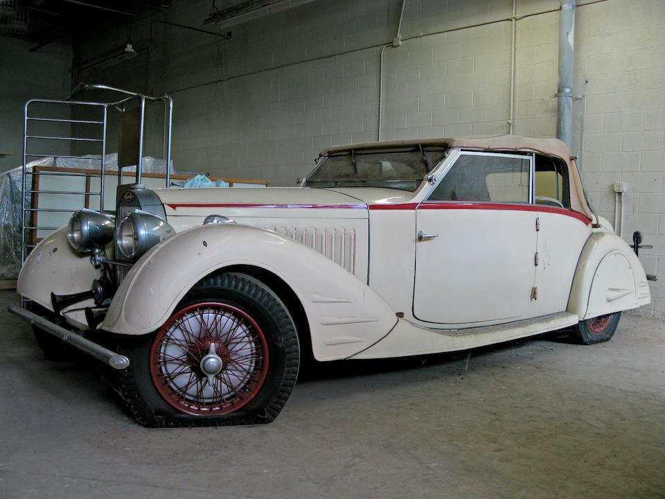 1934 Bugatti Type 57 Double Cabriolet Stelvio  Chassis no. 57164 Engine no. 63