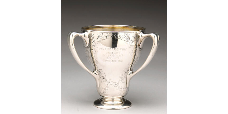 Sterling Three Handled Cup by Tiffany & Co.