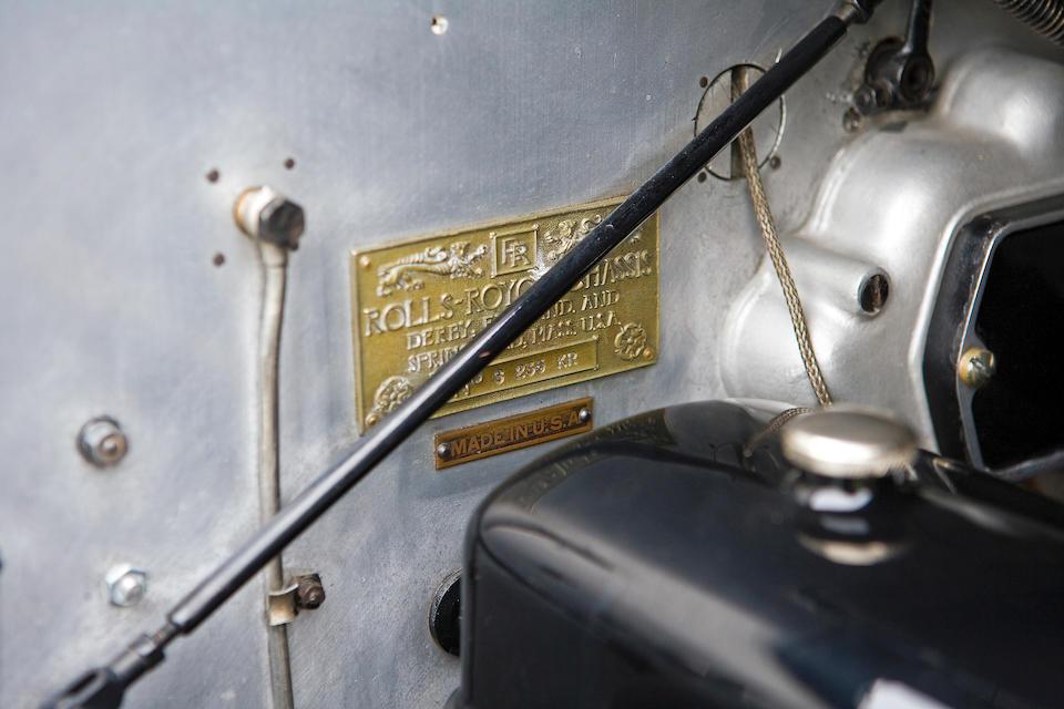 Ex-Jacquelyn de Rothschild and the late John Webb de Campi,1929 Rolls-Royce Phantom I Convertible Sedan  Chassis no. S235KR Engine no. 20359