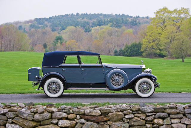 Ex-Jacquelyn de Rothschild and the Carlo John Webb de Campi,1929 Rolls-Royce  Phantom I Convertible Sedan S235KR