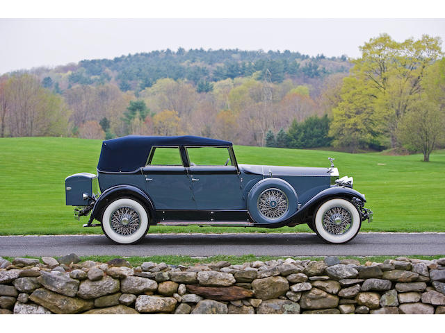 Ex-Jacquelyn de Rothschild and the late John Webb de Campi,1929 Rolls-Royce Phantom I Convertible Sedan  Chassis no. S235KR Engine no. 20359