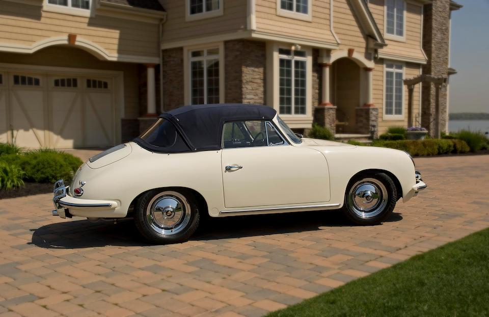 1963 Porsche 356B 1600 Super 90 Cabriolet  Chassis no. 158362 Engine no. 0800 639