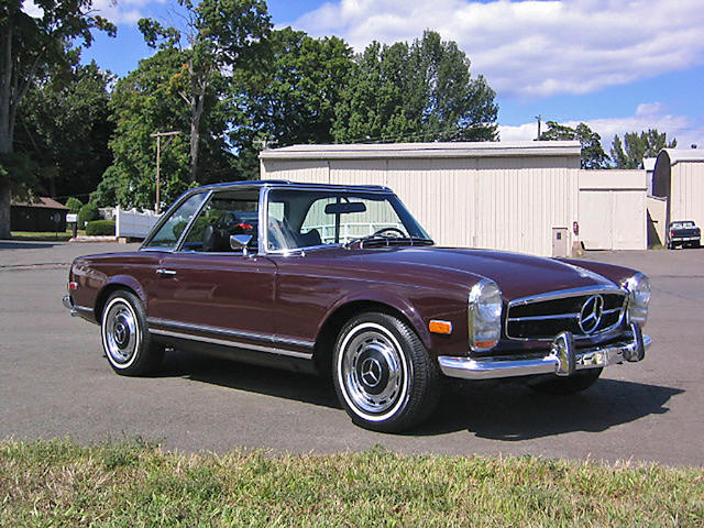 1969 Mercedes-Benz 280SL Roadster with Hardtop  Chassis no. 113044-12-010085