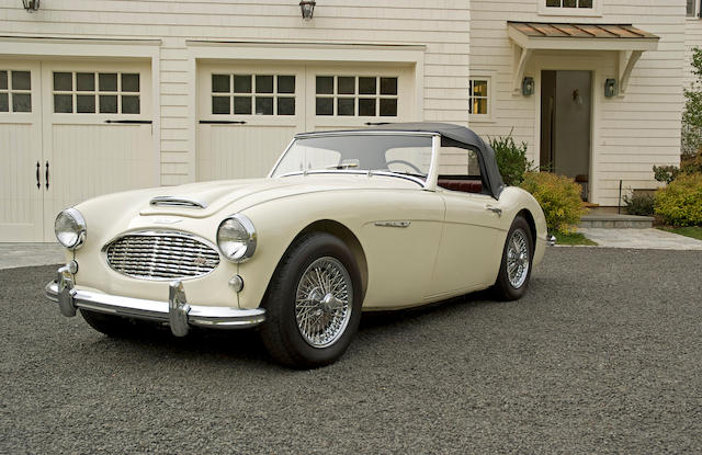 1957 Austin-Healey 100-6 Roadster  Chassis no. BN4L036615 Engine no. 1C-H/36615