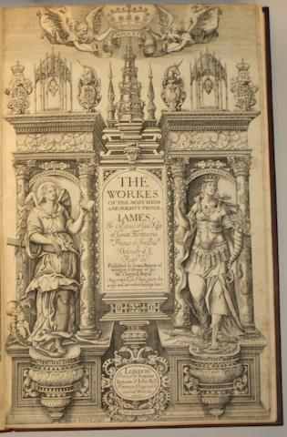 JAMES I, KING. 1566-1625.