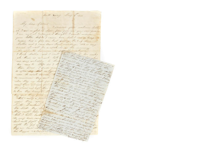 [CIVIL WAR—CONFEDERATE LETTERS.]