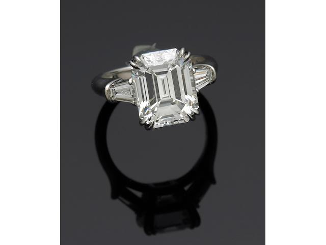 A diamond ring, Harry Winston
