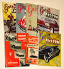 Assorted Hot Rod motoring books and publications,