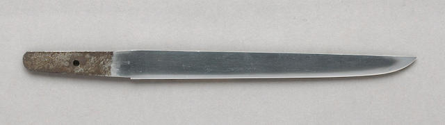 A shinshinto tanto Dated 1865