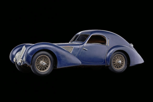 The ex-Pierre Boncompagni 'Pagnibon,' Ecurie Nice,1939 Talbot-Lago T150 C SS  Chassis no. 90120 Engine no. 17318-C