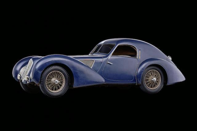 The ex-Pierre Boncompagni 'Pagnibon,' Ecurie Nice,1939 Talbot-Lago T150 C SS  Chassis no. 90120 Engine no. 17318-C