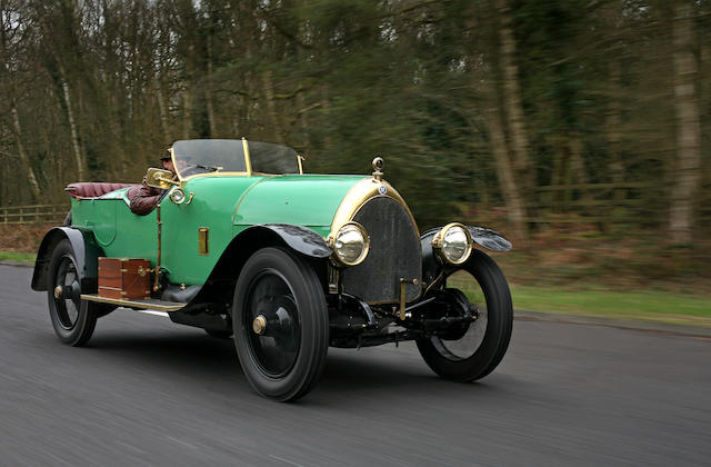 The ex-Cameron Peck, Lloyd Partridge,1913  Isotta Fraschini 100-120 hp Tipo KM 4 Four seat torpedo t