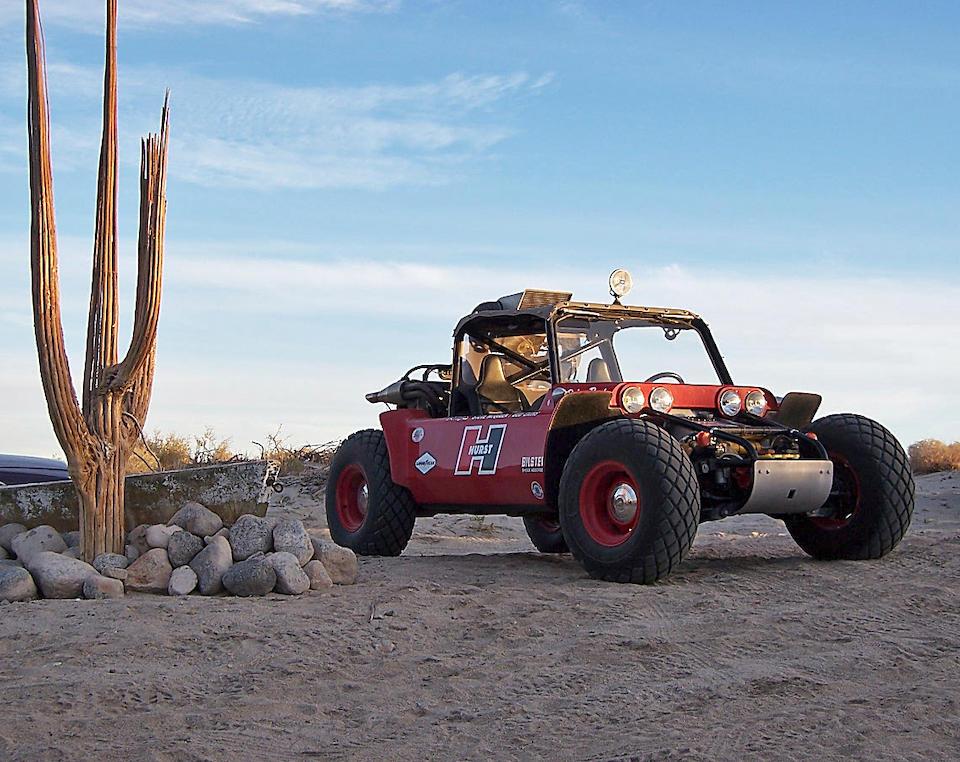 Ex-Solar Plastics Engineering Division/Steve McQueen/Bud Ekins,1967 'Baja Boot' Off Road Racing Buggy  Chassis no. MICH67229