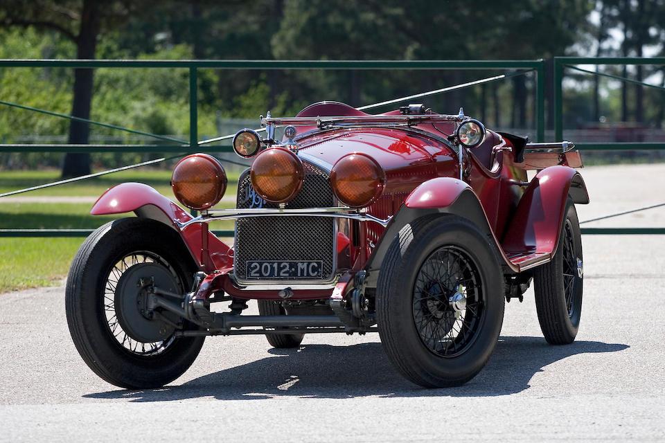 The ex-Luigi Scarfiotti, Scuderia Ferrari,1930 Alfa Romeo 6C 1750 Gran Sport Spyder  Chassis no. 8513033 Engine no. 8513033