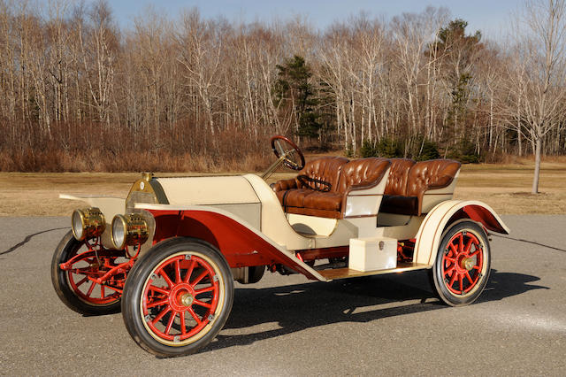 Believed to be ex-James Melton,1910 Stoddard Dayton 10C 4-Seat Roadster  Chassis no. 10C214 Engine no. 10A302