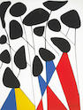 Alexander Calder (American, 1898-1976); Untitled (Composition);