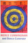 After Jasper Johns; Target for Merce Cunningham and Dance Company Posters; (3)