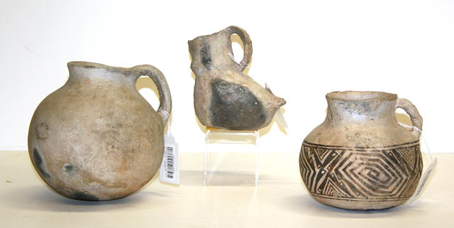Three Anasazi vessels