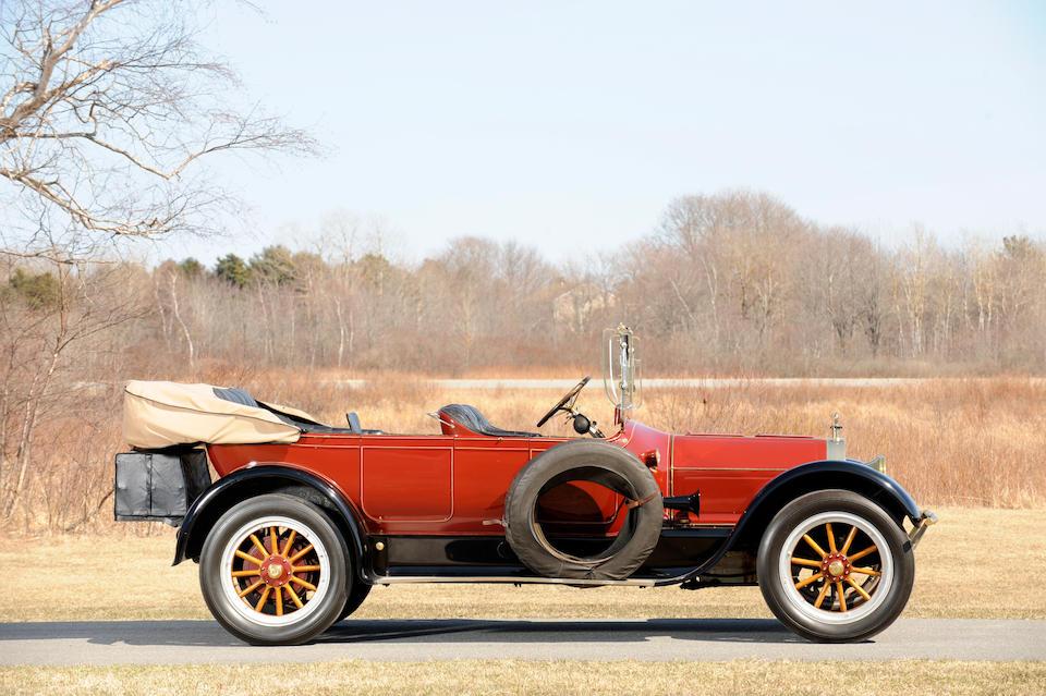 1917 Pierce-Arrow 38-C-4 7-Passenger Touring  Chassis no. 38645 Engine no. C4-4183