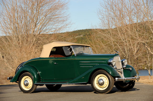 1934 Chevrolet Master Sport DC Roadster,