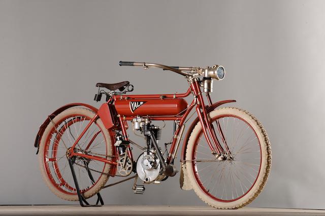c. 1910 Yale 3½ hp Single Cylinder Engine no. 4382