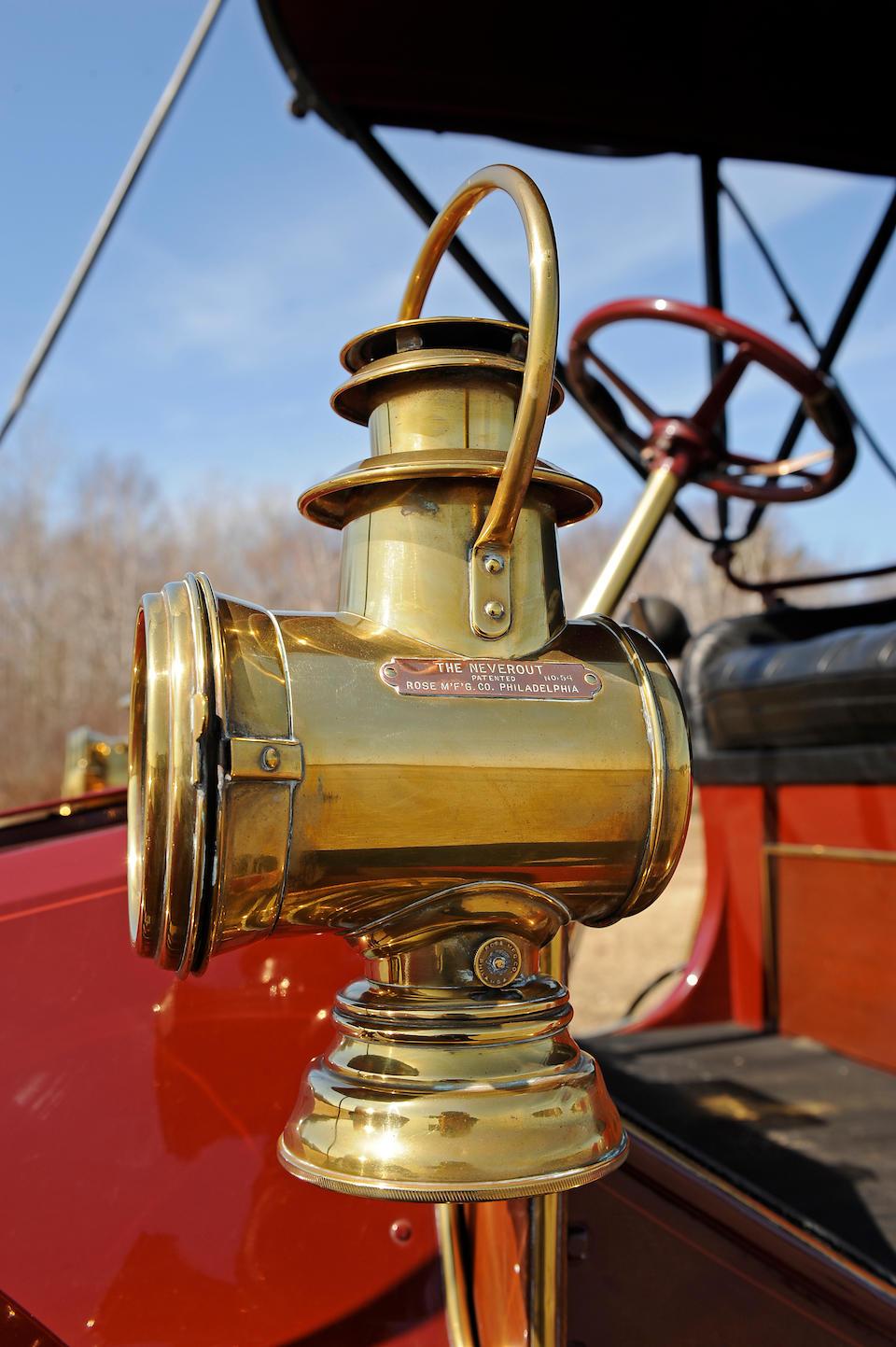 Ex-Dr. Samuel L. Scher,1906 Autocar Type 10 Runabout  Chassis no. 7962 Engine no. 7978