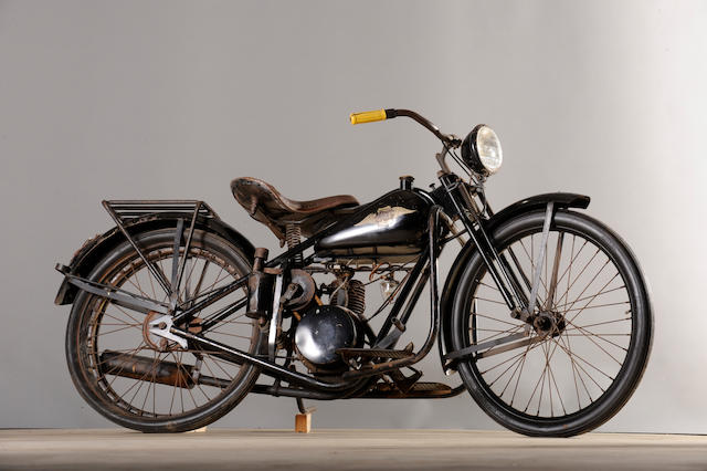 c. 1946 Simplex Servi-Cycle Frame no. H2788