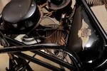 c. 1946 Simplex Servi-Cycle Frame no. H2788