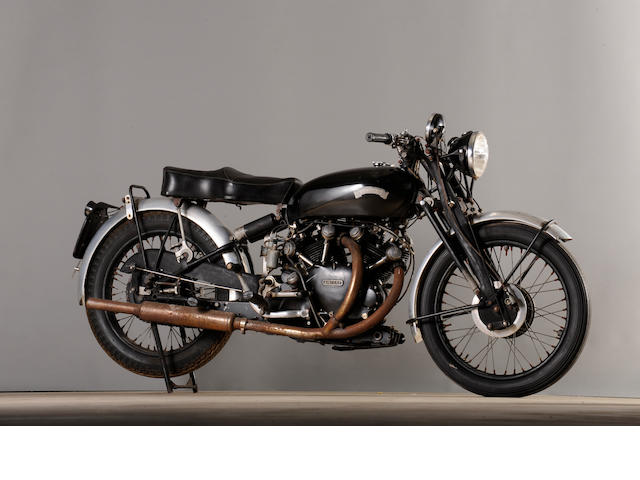 1955 Vincent Black Shadow,