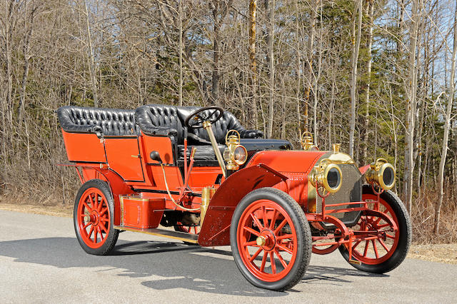 Formerly the property of Henry Austin Clark, Jr.,1907 Locomobile Type E Touring Car  Chassis no. 1322 Engine no. 1583