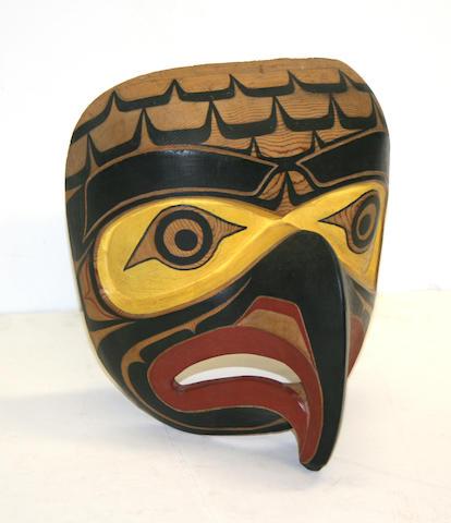 A Kwakiutl mask, Jim Johnny
