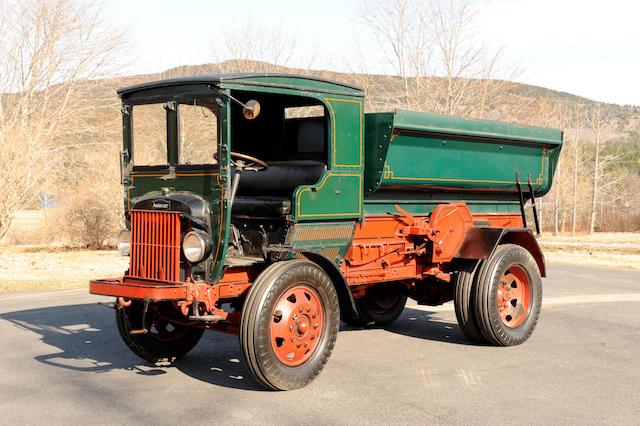 1922 Autocar XXVI Coal Truck