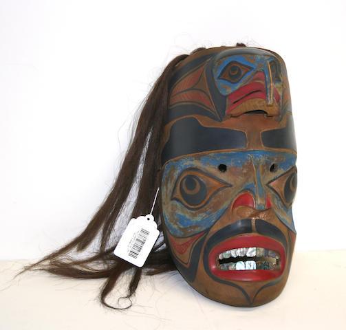 A Northwest Coast mask