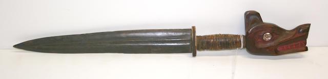 A Northwest Coast style dagger